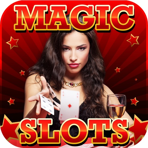 Ace Magic Slots - Jackpot Celebrity Illusion Craft Slot Machine Games Free icon