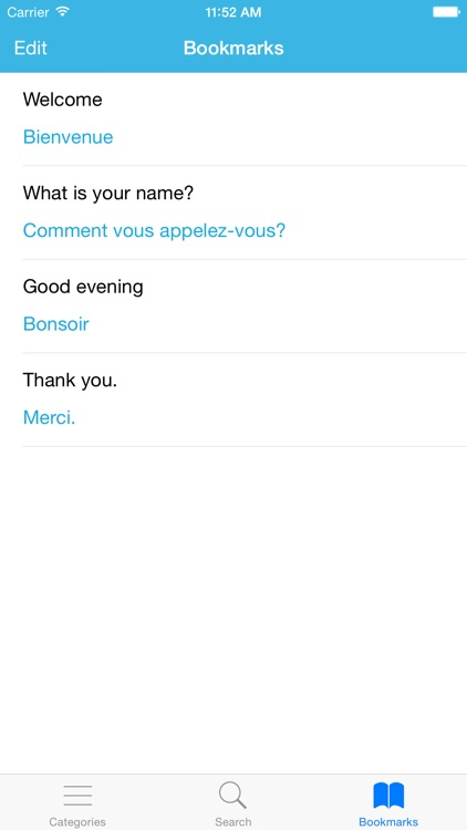 French Phrasebook: Conversational French screenshot-4