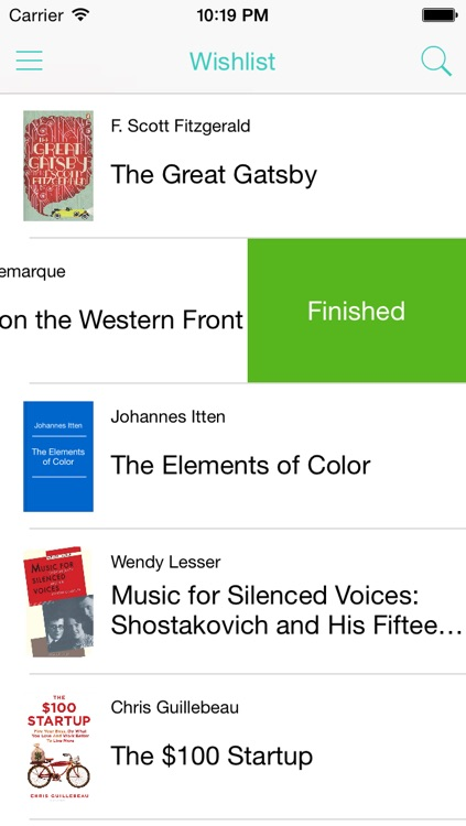 Reading List app screenshot-4