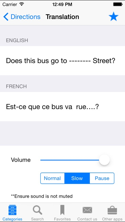 English to French Translation Phrasebook