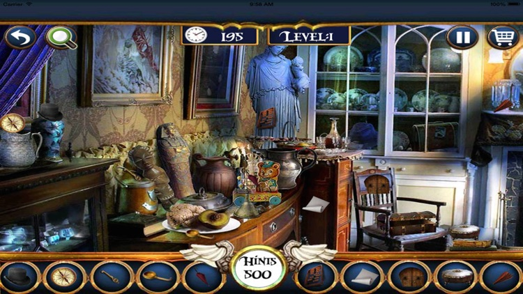 Hidden Objects 100 levels unlimited fun