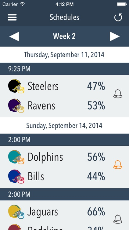 Predictor - American Football 2014 screenshot-3