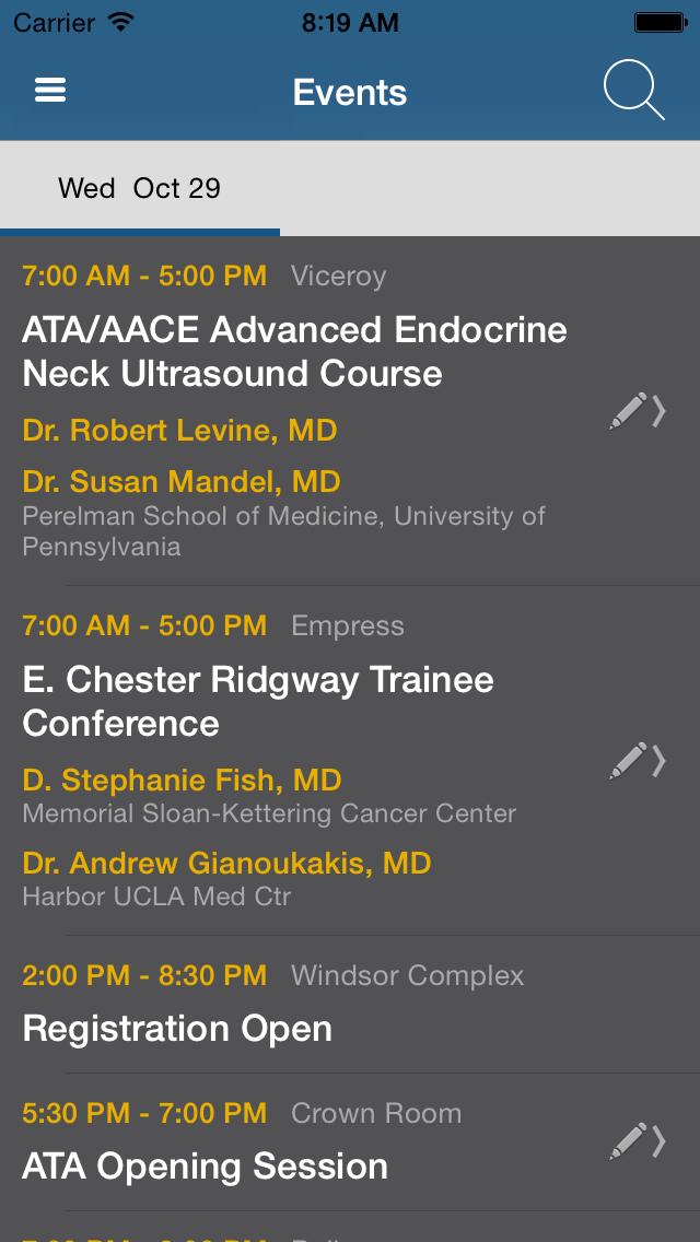American Thyroid Association (ATA) 84th Annual Meeting screenshot two