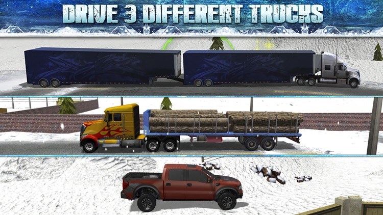 Truck Parking Simulator - Ice Road Truckers Edition screenshot-2