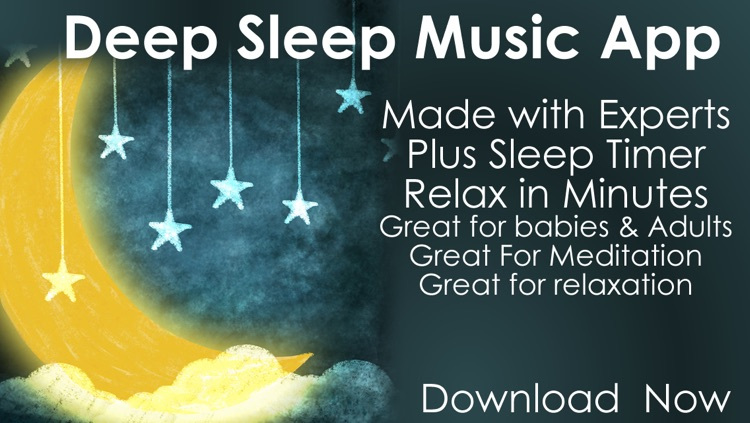 Music for deep sleep and sleep cycle alarm clock New Age radio screenshot-0
