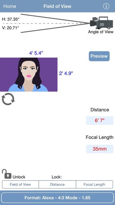 pCAM Film+Digital Calculator Screenshot 2