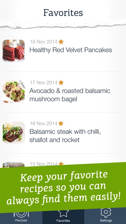 Healthy Recipes - quick and easy meals for a well-balanced diet screenshot-3