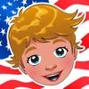 America! Gioco Per i Bambini: Imparare Con i Ragazzi e le Ragazze Degli Stati Uniti