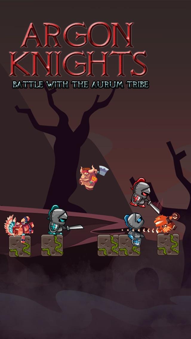 Argon Knights - 中世紀戰爭與黑暗騎士屏幕截圖1