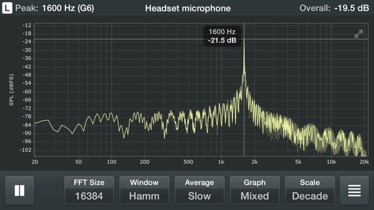 Spectrum Analyzer - Real Time Sound Frequency Analyzer
