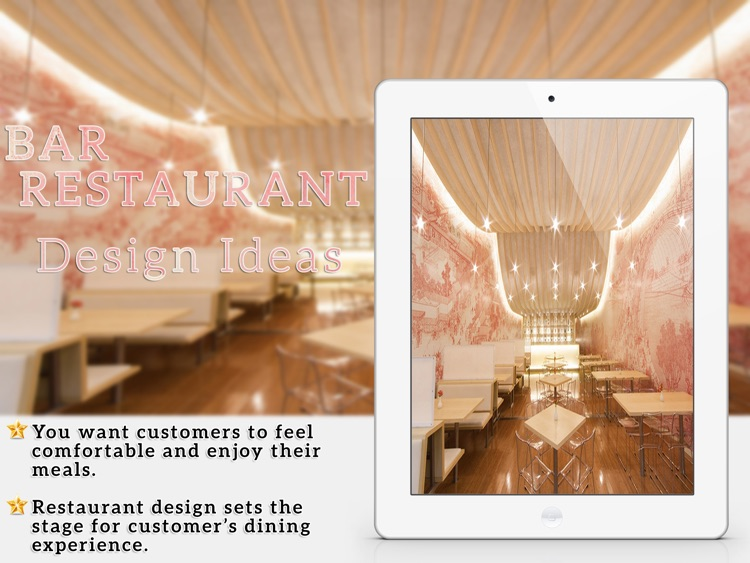Restaurant & Bar - Interior Design Ideas for iPad screenshot-0
