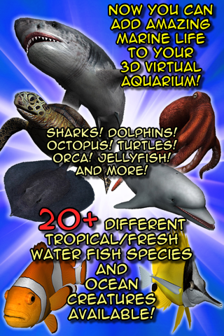 my Fish 3D Virtual Aquarium (Gold Edition) screenshot 1