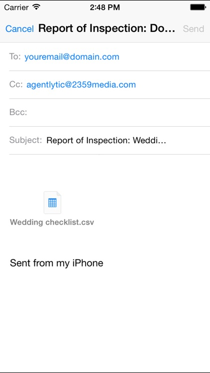 Agentlytic One: Customizable Outdoor Inspections forms and checklist screenshot-3