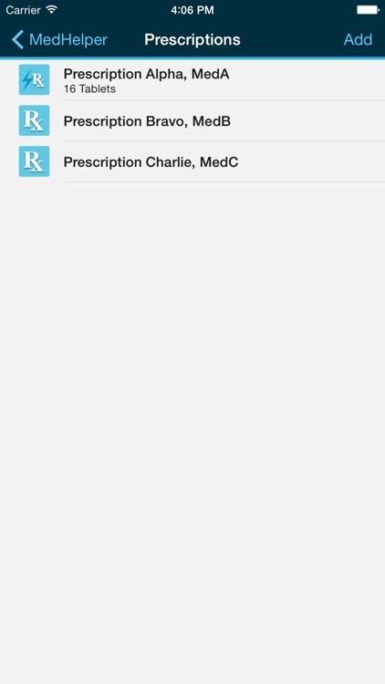 Med Helper – Pill Reminder and Medication Tracker screenshot-3