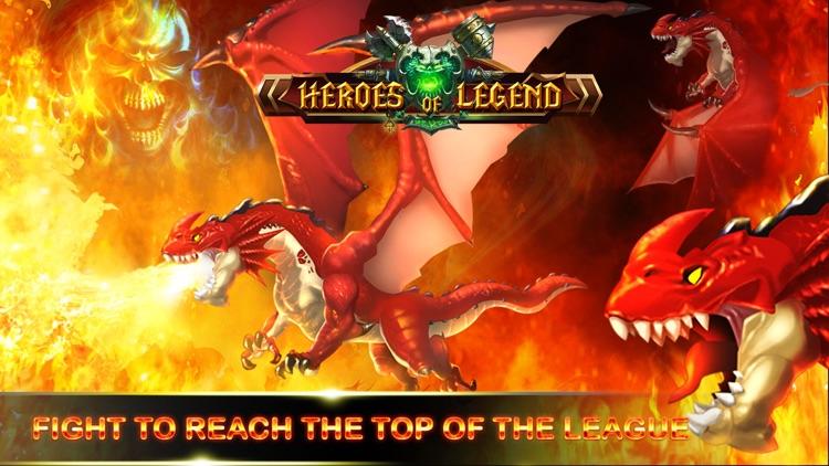 Heroes of Legend : Castle Defense screenshot-4