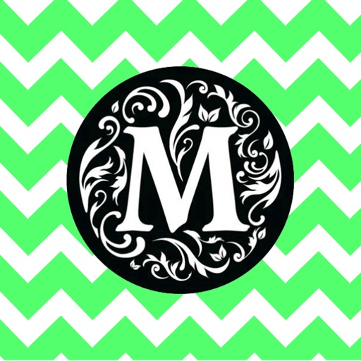 Pimp Your Monogram: Wallpaper & Backgrounds Maker HD