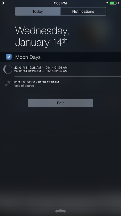 Moon Days - Lunar Calendar and Void of Course Timesのおすすめ画像5