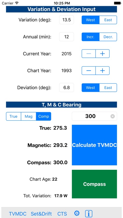 TVMDC Sailing & Marine Navigation Calculator screenshot-4