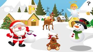ABC 記憶遊戲 兒童 - 了解 聖誕節和 聖誕老人屏幕截圖1