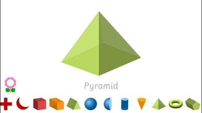 Shapes for Kids (Geometry Flashcards for Kindergarten Teachers and Students) Increase IQ, Develop Cognitive Skills in Autism for autistic children-0