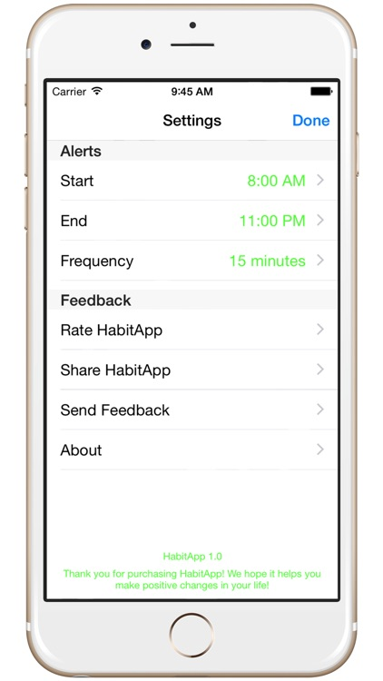 HabitApp - Improve your life one habit at a time screenshot-4