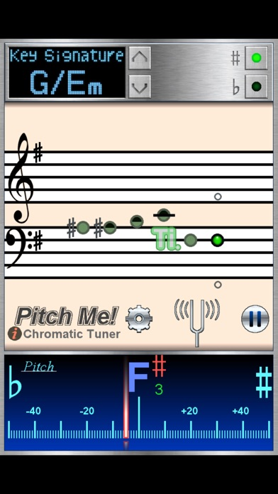 PitchMe - Chromatic Tuner Screenshot on iOS