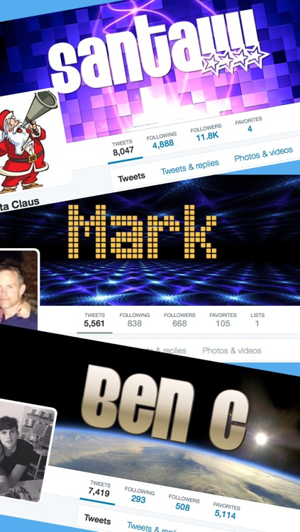 TwitWall - Custom Cover / Header Photo Maker for Twitter screenshot-0