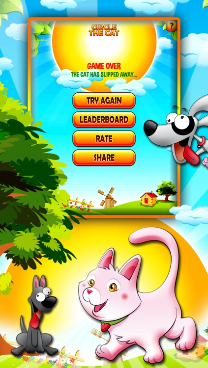 Circle The Cat Free screenshot-4