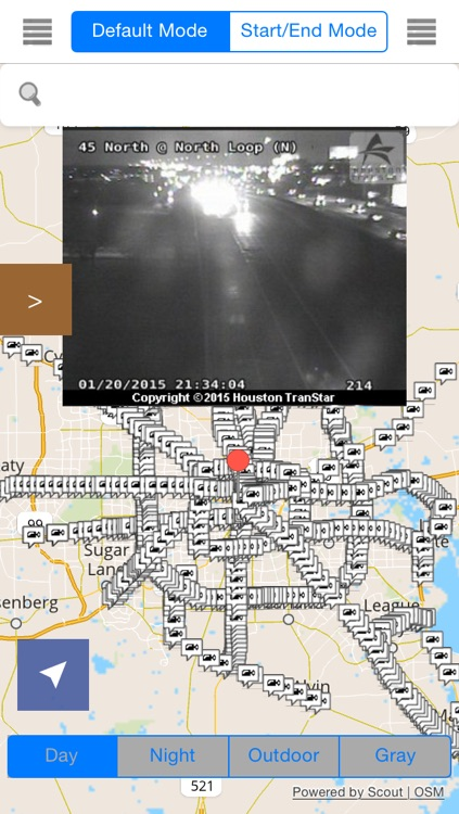 Texas Offline Map with Traffic Cameras Pro