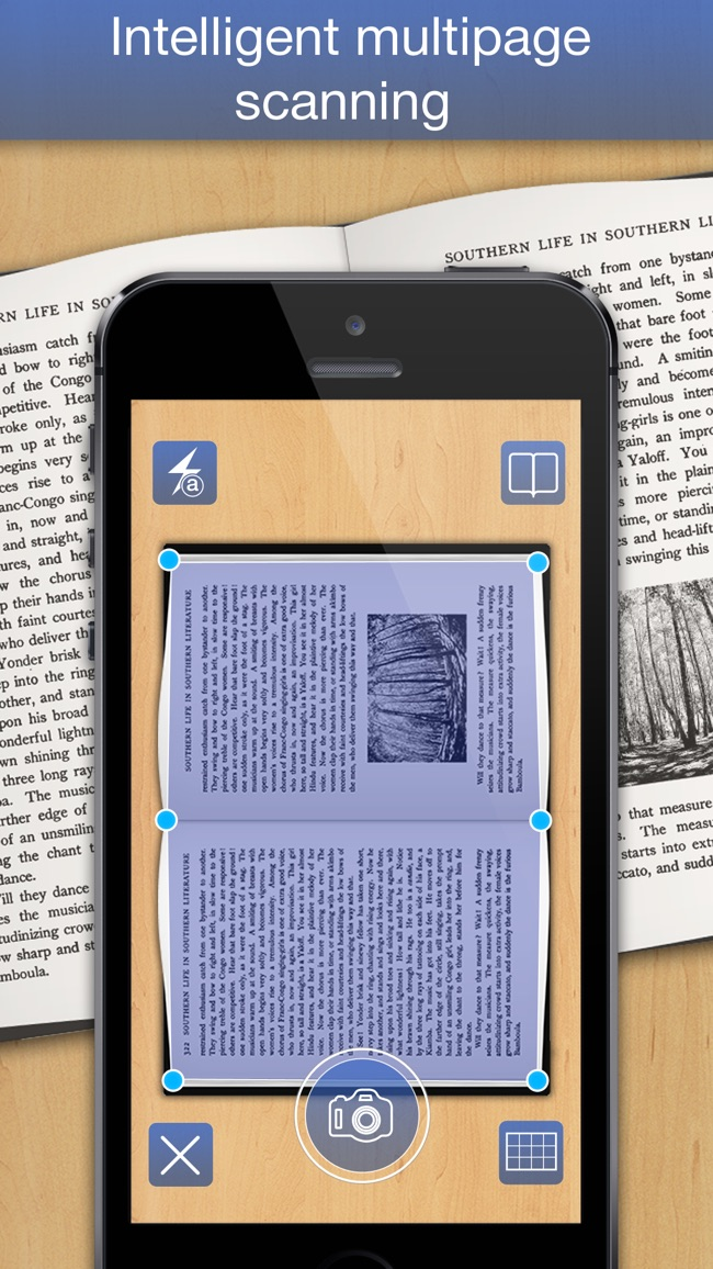 PDF Scanner - easily scan books and multipage documents to PDF Screenshot