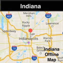 Indiana Offline Map with Traffic Cameras Pro