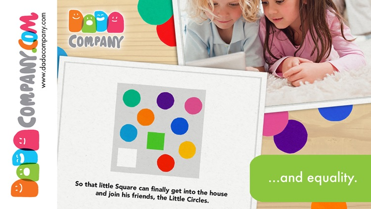 Four little corners - An interactive storybook app about friendship screenshot-4