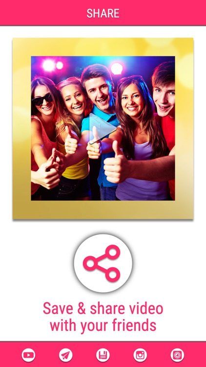 Video Maker Pro - Create beautiful video square slide show with your photo and image screenshot-4