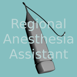 Regional Anesthesia Assistant for iPhone app