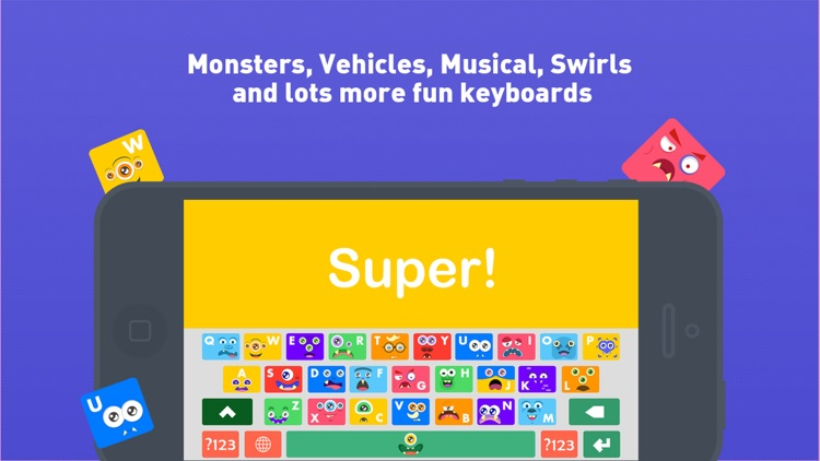 Kids Keys - My First Amazing Keyboard Colors Monsters Trucks and More Keyboard Themes for kids screenshot-4