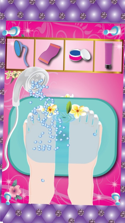 Princess Manicure & Pedicure - Nail art design and dress up salon game screenshot-3