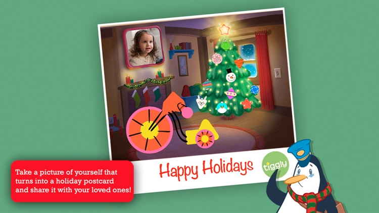 Tiggly Christmas: Fun Creative Holiday Game for Preschool Kids screenshot-3