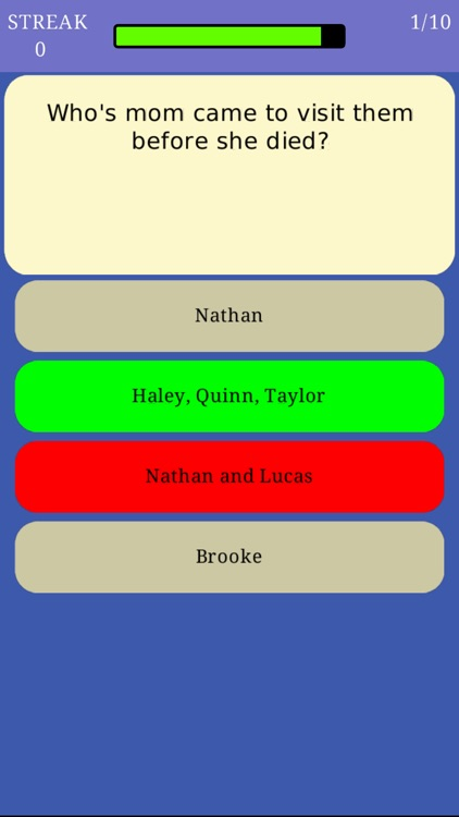 Trivia for One Tree Hill - Fan Quiz for the TV series by
