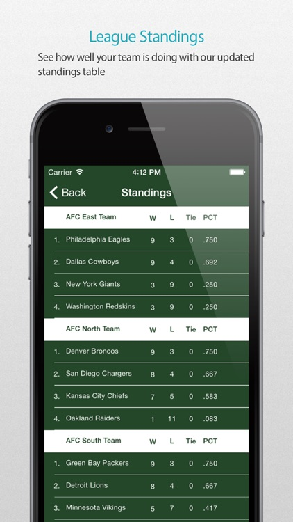 Green Bay Football Alarm Pro screenshot-3