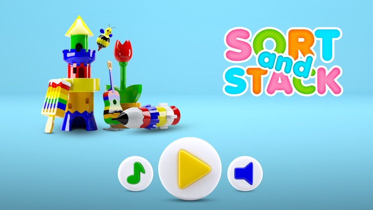 Sort and Stack Freemium - Play Smart and Learn screenshot-0