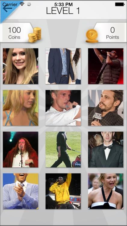 Word Pic Quiz - Famous Faces Trivia
