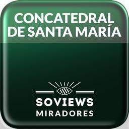 Mirador de la concatedral de Cáceres