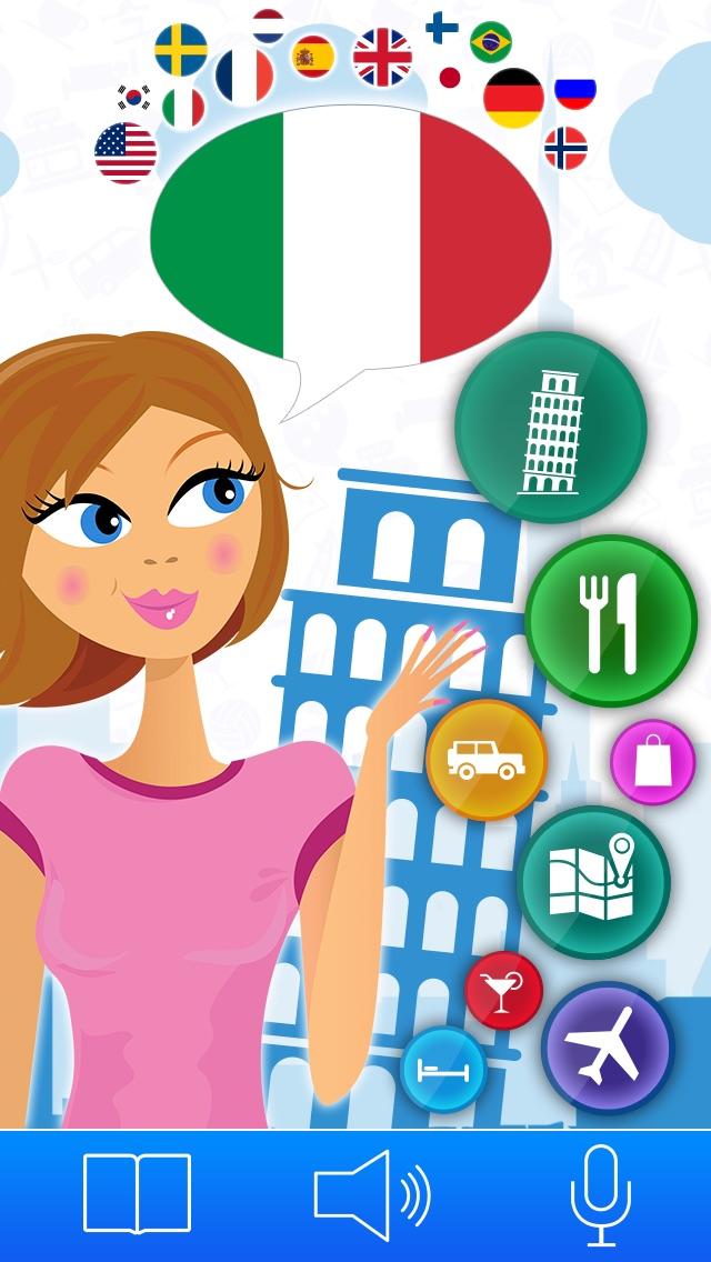 インタラクティブレッスンでイタリア語を学習 – Lingopediaで言葉を話すのおすすめ画像1