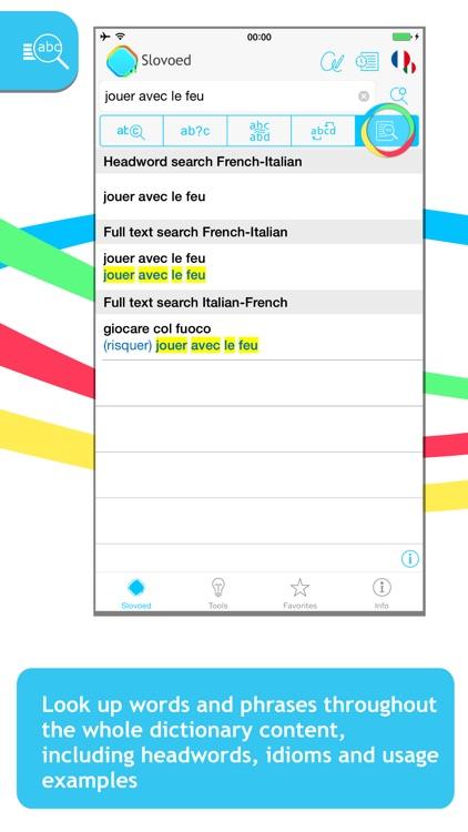 French <-> Italian Slovoed Classic talking dictionary
