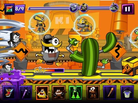Mixels Rush tablet App screenshot 4