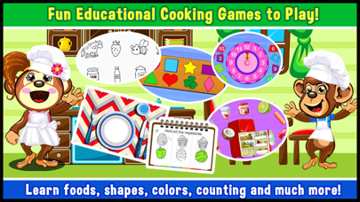 Preschool Educational Zoo Kitchen Games for Toddler   play children mini shape & alphabet learning puzzles for kids free Resources hack