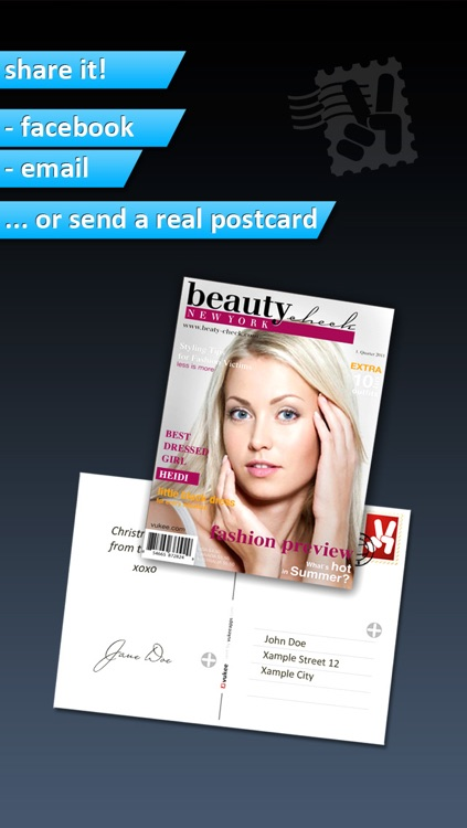 Photo2Cover - Create your own magazine cover screenshot-3