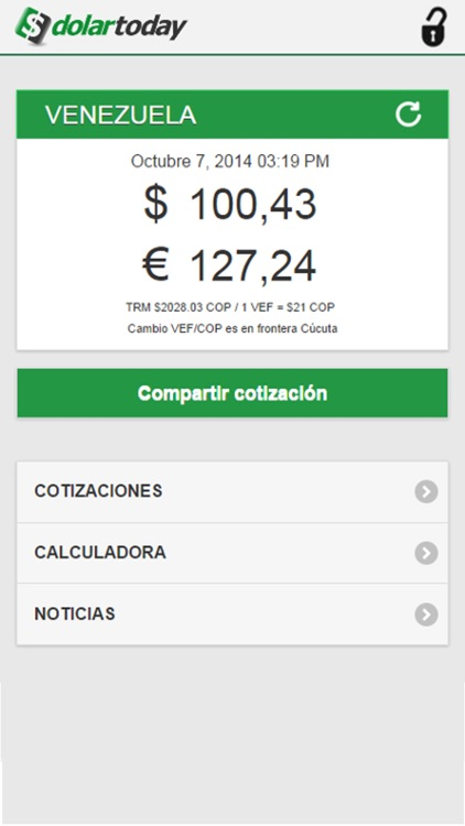 DolarToday screenshot-0