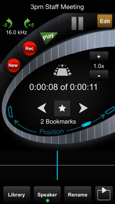 HT Professional Recorder screenshot two