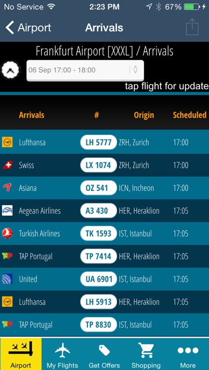 Frankfurt Airport Pro (FRA) Flight Tracker